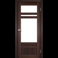 Дверное полотно Tivoli TV-04 Korfad стекло сатин белый