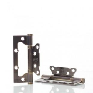 Петля дверная неврезная NS 100*63-2BB-AB(CP,PB)