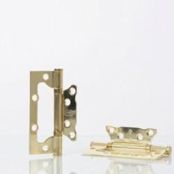 Петля дверная не врезная NS 100*75-2BB-AB(CP,PB)