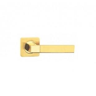 Купить Ручку Дверную на круглой розетке NS А56032 kvadra - SB/PB(AB,CP)