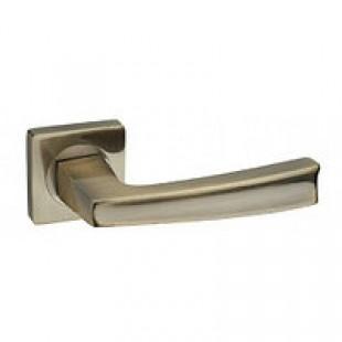 Купить ручку дверную на квадратной розетке R08.140-AL-AB,SN/CP
