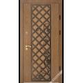 Дверь входная металлическая Град Лоза vin дуб коричневый