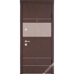 Дверь входная металлическая Бревис Plus венге золото