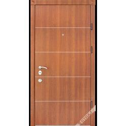 Дверь входная металлическая Соло каштан