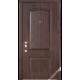 Дверь входная металлическая Каприз орех темный