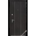 Дверь входная металлическая Лайн шпон дуб ноче