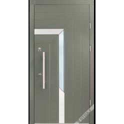 Дверь входная металлическая Токои Рио vin серый лесной