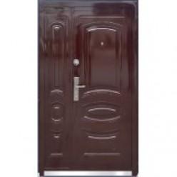 Дверь входная металлическая ТР-С 31 автолак вишня