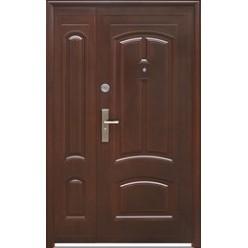 Дверь полуторная входная металлическая ТР-С 12 автолак медь