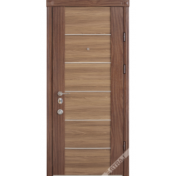 Дверь входная металлическая Софи орех