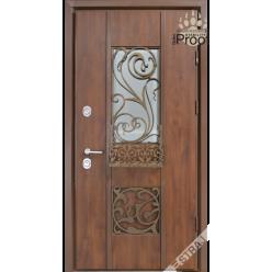 Дверь входная металлическая Эридан vin дуб темный PF