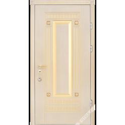 Дверь входная металлическая Эклипс Prestige vin слоновая кость