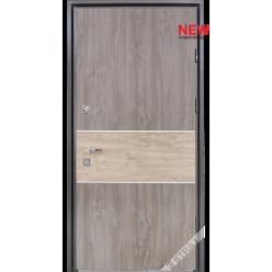 Дверь входная металлическая Парти С vin дуб серый PF