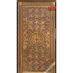 Дверь входная металлическая Мириам дуб золотой