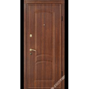 Дверь входная металлическая 43 каштан