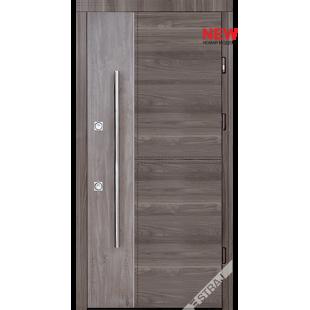 Дверь входная металлическая Таргет дуб серый