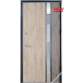 Дверь входная металлическая Рио Р vin дуб сонома PF