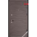 Дверь входная металлическая Бреза софт смоки