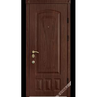 Дверь входная металлическая Элегант орех