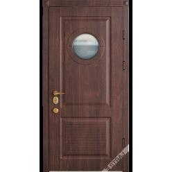 Дверь входная металлическая Немо vin орех коньячный