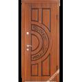 Дверь входная металлическая Рассвет орех светлый