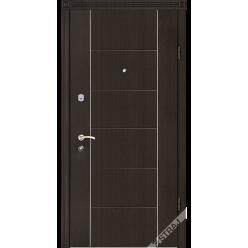 Дверь входная металлическая Параллель венге