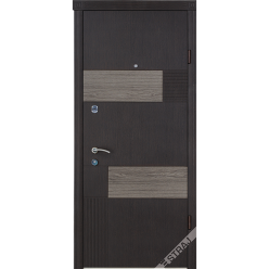 Дверь входная металлическая Стиль Вулкано венге