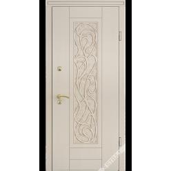 Дверь входная металлическая Невада ND vin слоновая кость