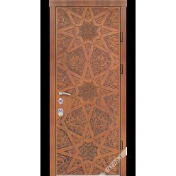 Дверь входная металлическая Агни vin дуб золотой