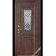 Дверь входная металлическая Ариадна Арко вишня темная