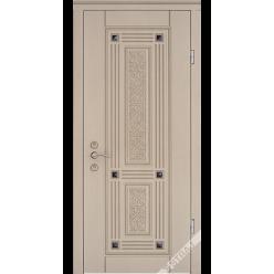 Дверь входная металлическая Эккриз 3D vin слоновая кость