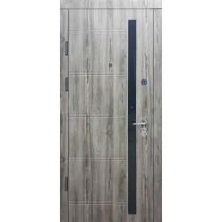 Дверь входная металлическая три петли серия Оптима
