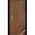 Дверь входная металлическая Модель В23 орех таволато