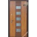Дверь входная металлическая Стрим vin дуб золотой PF