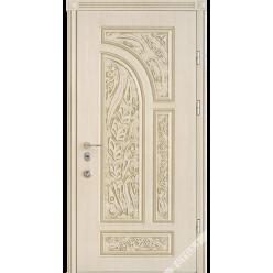 Дверь входная металлическая R 38 vin слоновая кость