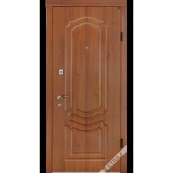 Дверь входная металлическая Модель В101 каштан
