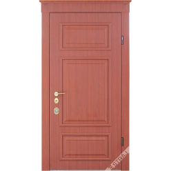 Дверь входная металлическая Верия орех гварнери