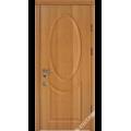 Дверь входная металлическая Эдель орех светлый