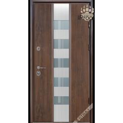 Дверь входная металлическая Стрим SL vin дуб темный PF