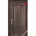 Дверь входная металлическая Бостон орех шоколадный