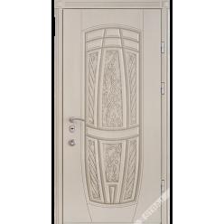 Дверь входная металлическая R 15 vin слоновая кость