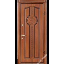 Дверь входная металлическая 59 дуб рустикаль