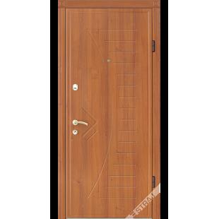 Дверь входная металлическая 53 дуб рустикаль