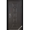 Дверь входная металлическая Филадельфия орех темный