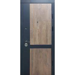 Дверь входная металлическая три петли серия Престиж