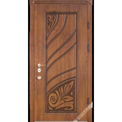 Дверь входная металлическая R 4 vin дуб золотой