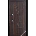 Дверь входная металлическая Модель В1 венге золото