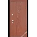 Дверь входная металлическая Флория орех гварнери