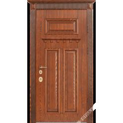 Дверь входная металлическая Галисия патина архитектурная 15