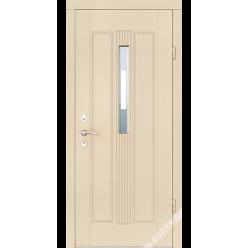 Дверь входная металлическая Верона Коста vin слоновая кость